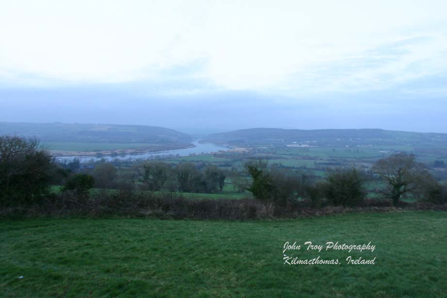 Coolahest Hill Overlooking River Blackwater